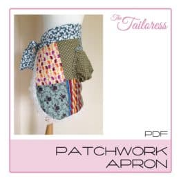 The Tailoress PDF Sewing Patterns - Patchwork Apron PDF Sewing Pattern