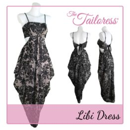 The Tailoress PDF Sewing Patterns - Libi Dress PDF Pattern