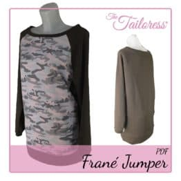 The Tailoress PDF Sewing Patterns - Frané Jumper PDF Sewing Pattern