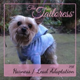 The Tailoress PDF Sewing Patterns - Dogs