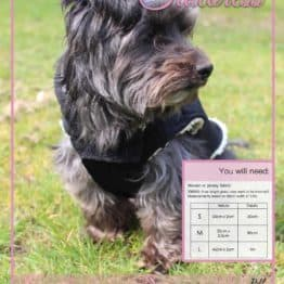 The Tailoress PDF Sewing Patterns - Timmy Gilet for Dogs PDF Sewing Pattern