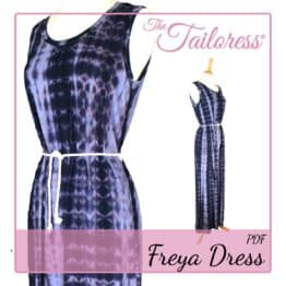 The Tailoress PDF Sewing Patterns - Freya Dress PDF Sewing Pattern