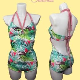 The Tailoress PDF Sewing Patterns - Sabrina Swimsuit PDF Sewing Pattern