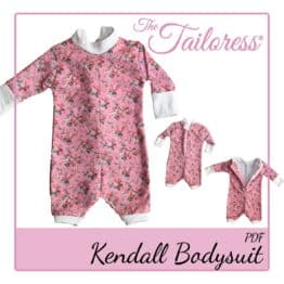 The Tailoress PDF Sewing Patterns - Baby Sewing Patterns