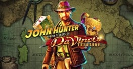john hunter da vincis treasure casino slot
