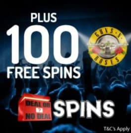 Deal or No Deal Spins Casino 100 free spins & £100 bonus - review