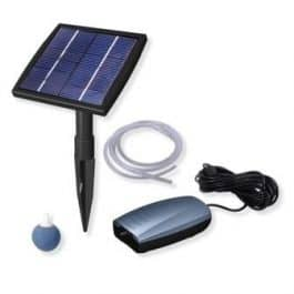 solar powered air pump
