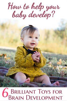 Brilliant Toys For Brain Development   Fab Working Mom Life #parenting #baby #motordevelopment #milestones #toddlers