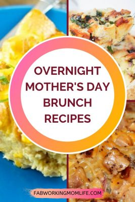 Overnight Mother's Day Brunch Recipes