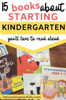 15 books about starting kindergarten