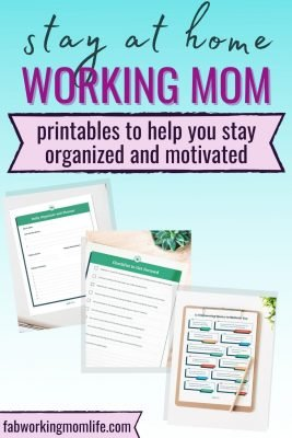 How to Stay Organized and Motivated as a Stay at Home Working Mom