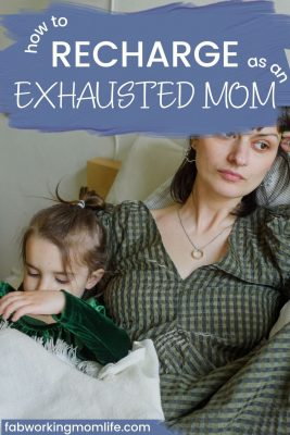 exhausted mom