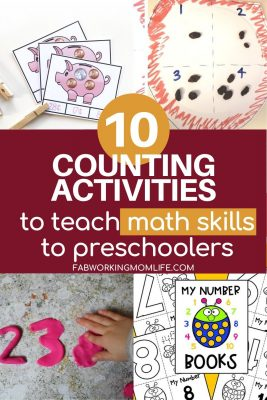 10 counting activities for preschoolers