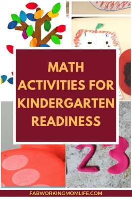 math activities for kindergarten readiness