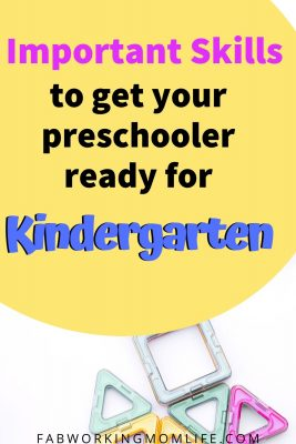 important skills to get your preschooler ready for kindergarten