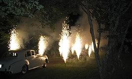 Fontänen Feuerwerk