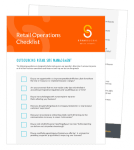Retail Operations Checklist StrasGlobal