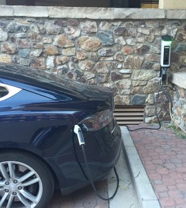 A new free-for-guests SemaConnect electric car charger – and a Ford C-Max for around town trips – are two new green initiatives for the TripAdvisor GreenLeader-ranked Antlers at Vail hotel.
