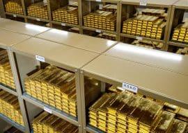 Goldbarren, Goldreserven
