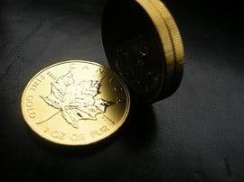 Gold Maple Leaf, Goldmünze (Foto: Goldreporter)