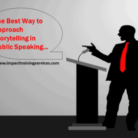 cover image for best way to approach story telling in public speaking