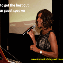 cover image for how to get the best out of your guest speaker