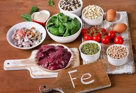 Các thực phẩm bổ sung sắt cho cơ thể