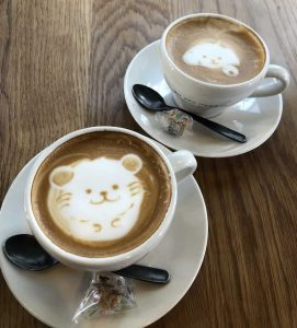 Italian coffee at Anea Cafe in Tokyo
