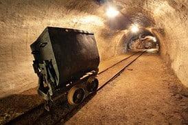 Gold, Förderung, Minen