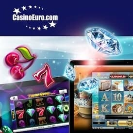 CasinoEuro 100 free spins and 100% up to $/£/€150 free bonus