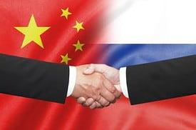 Russland, China, Gold