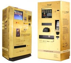 Gold to Go, Gold-Automat