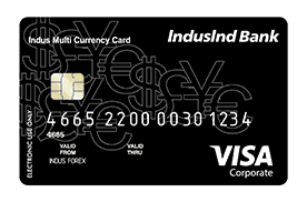 indusind multi currency