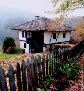 Casa tipica de montañas Rodope