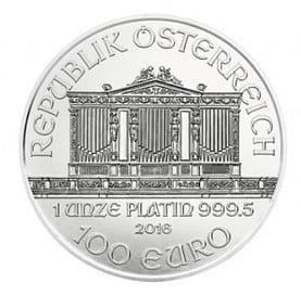 Platin, Münze