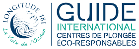 Guide international centres de plongée éco-responsables Longitude 181