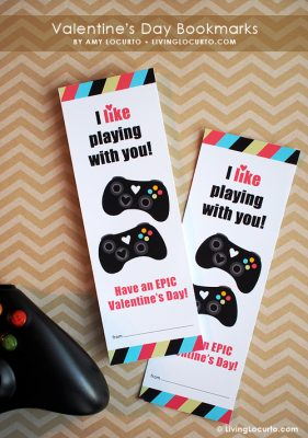 Valentines Day video Game Printables