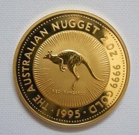 Gold, Goldmünze, Känguru