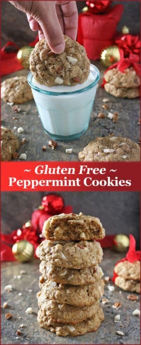 easy Gluten Free Peppermint Cookies Recipe Image