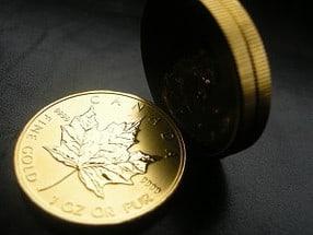 Gold, Maple Leaf, Goldmünze (Foto: Goldreporter)