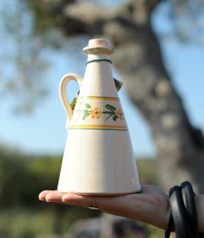 Orciolino in ceramica Giallo