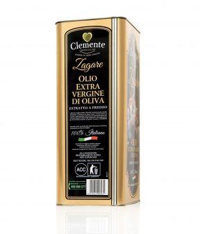 Olio Extravergine 100% Italiano - Le Zagare 5Litri - Retro