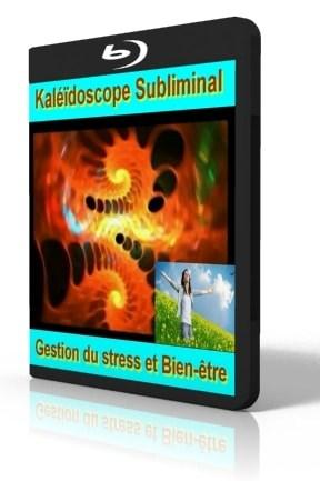 Kaléidoscope vidéo subliminale gestion du stress et bien-être.