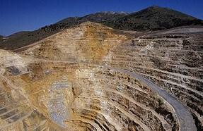 Gold, Mine, Förderung
