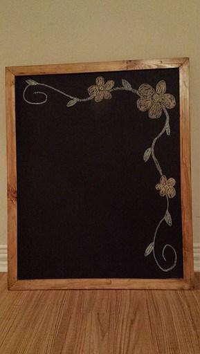 wooden chalkboard skilled smith workshop