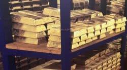 Gold, Goldbarren, London, BoE