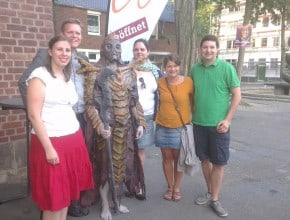 Im letzten Jahr habe ich einen Drachenpriester in der Kölner Südstadt getroffen.