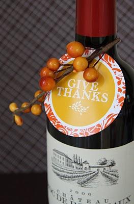 Thanksgiving Free Printable Labels