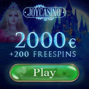Joy Casino | 200 free spins + 425% bonus up to $2000 | Instant payments!