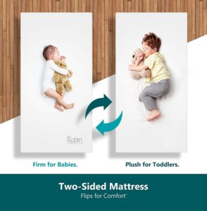 Moonlight Slumber Dual Sided Baby Mattress
